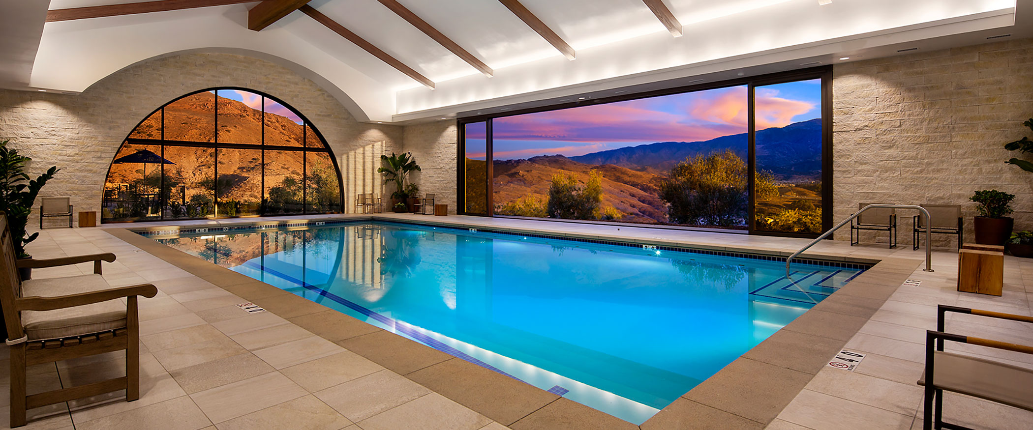 Indoor Pool at the Terrace Club