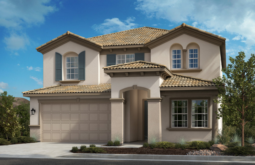 Caraway by KB Home – Residence Two Villa (Preliminary Rendering)