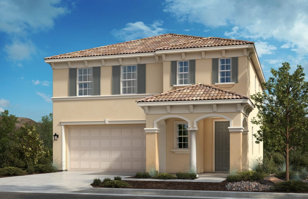 Caraway by KB Home – Residence Three Villa (Preliminary Rendering)