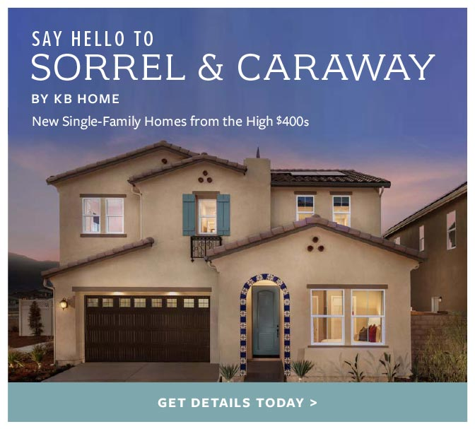 Say Hello to Sorrel & Cawaway. New Single-Family Homes from the High $400s.