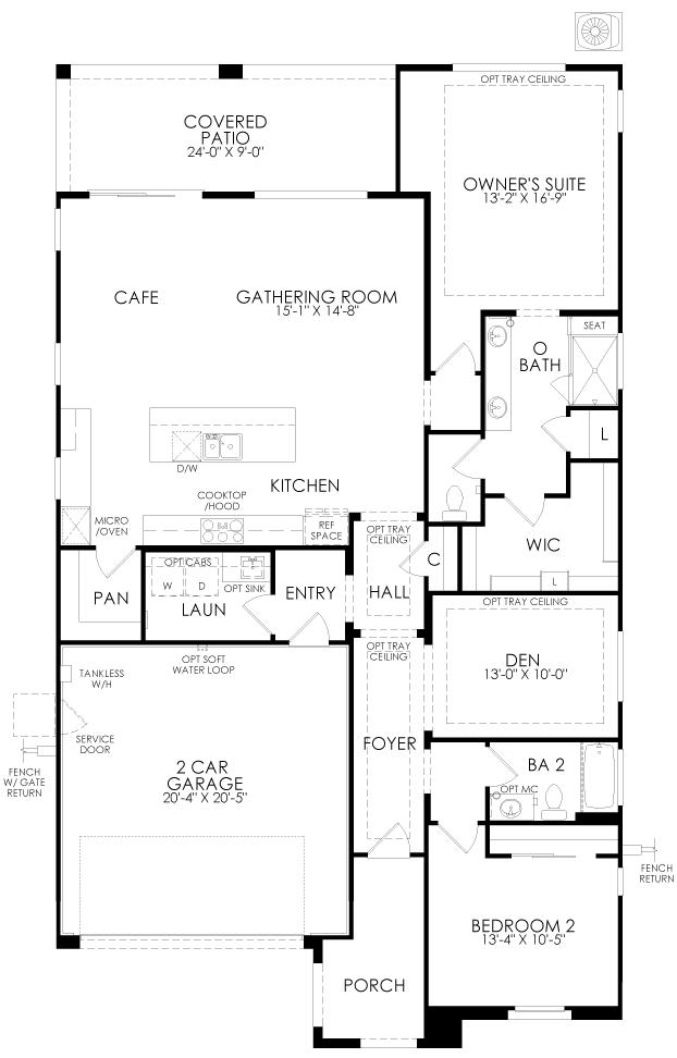 Bellwood at Irontree floor plan