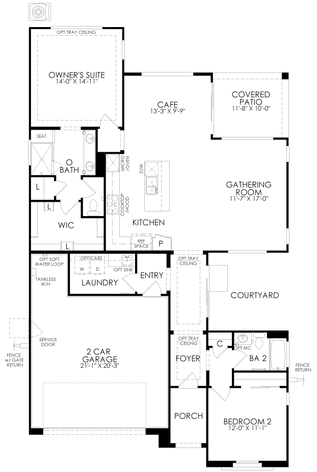 Brownstone at Irontree floor plan